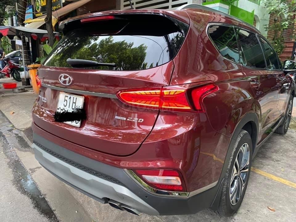 Xe Hyundai Santa Fe sx 2019, màu đỏ chính chủ giá 1 tỷ 199 triệu đồng (3)