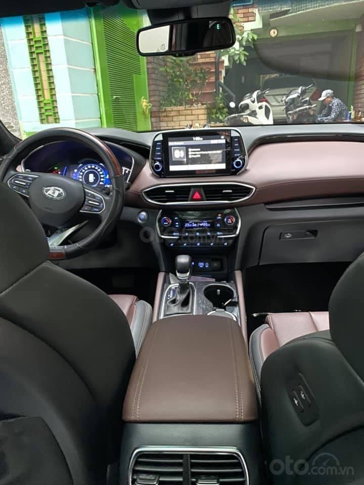 Xe Hyundai Santa Fe sx 2019, màu đỏ chính chủ giá 1 tỷ 199 triệu đồng (5)