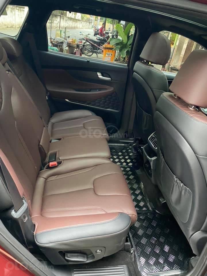 Xe Hyundai Santa Fe sx 2019, màu đỏ chính chủ giá 1 tỷ 199 triệu đồng (9)