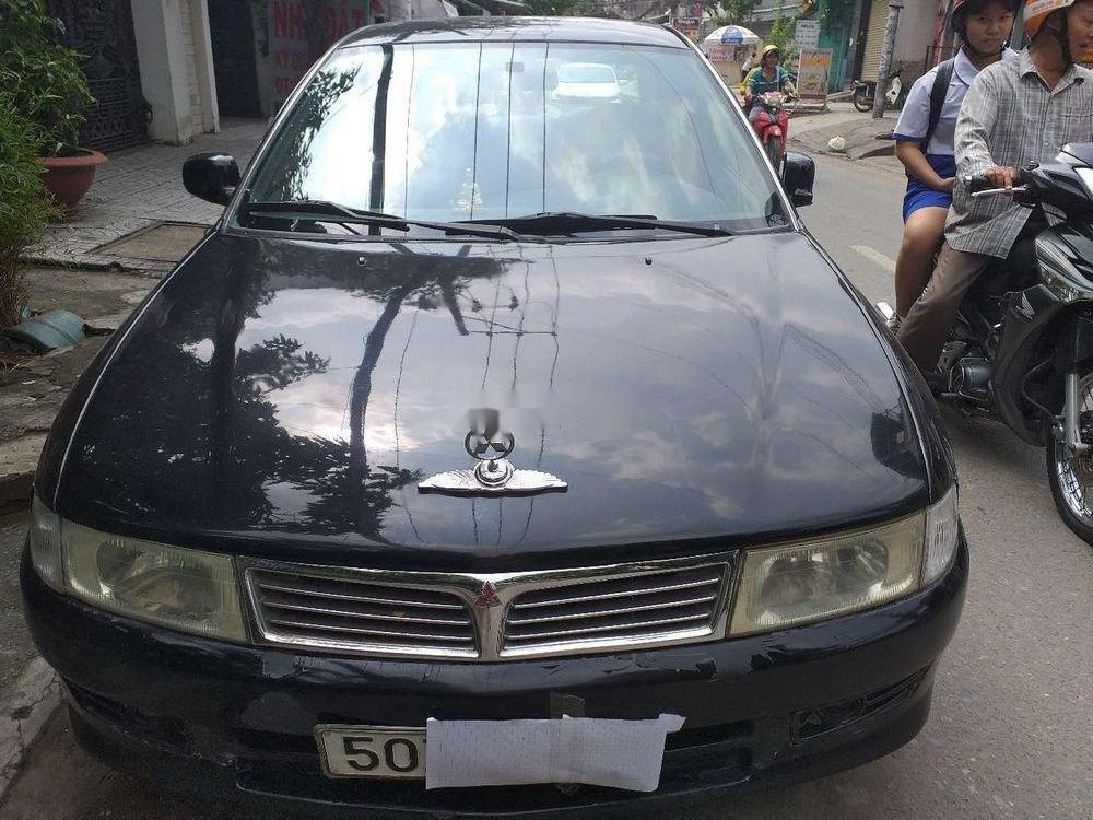 Bán ô tô Mitsubishi Lancer đời 2000, màu đen, giá tốt (1)