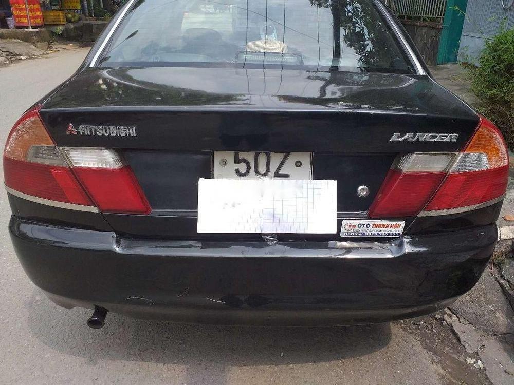 Bán ô tô Mitsubishi Lancer đời 2000, màu đen, giá tốt (3)