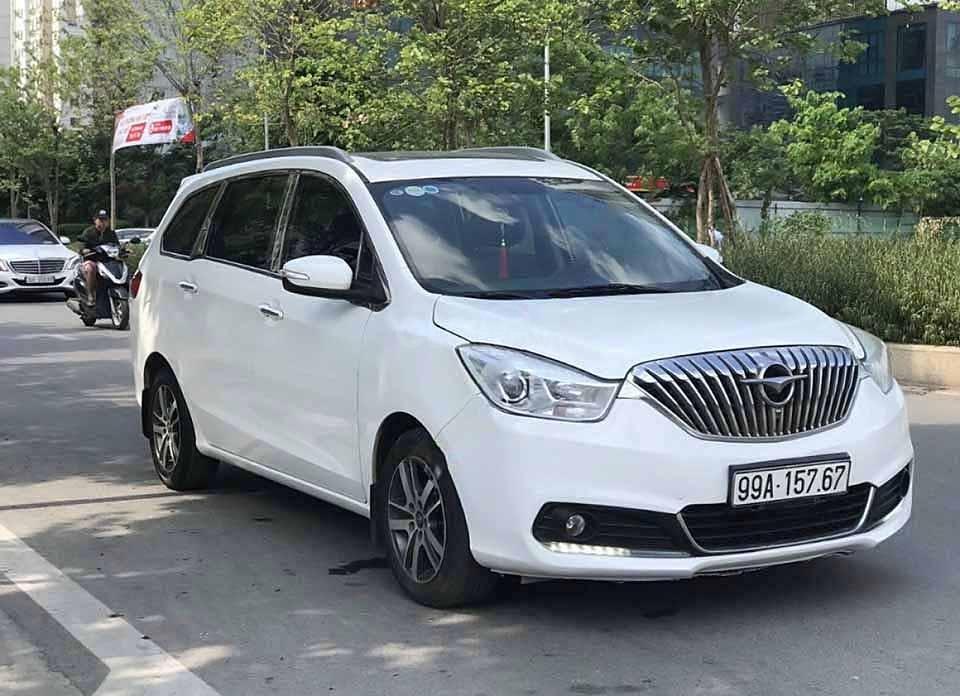 Cần bán lại xe Haima V70 1.5 AT sản xuất 2016, màu trắng, nhập khẩu còn mới (1)