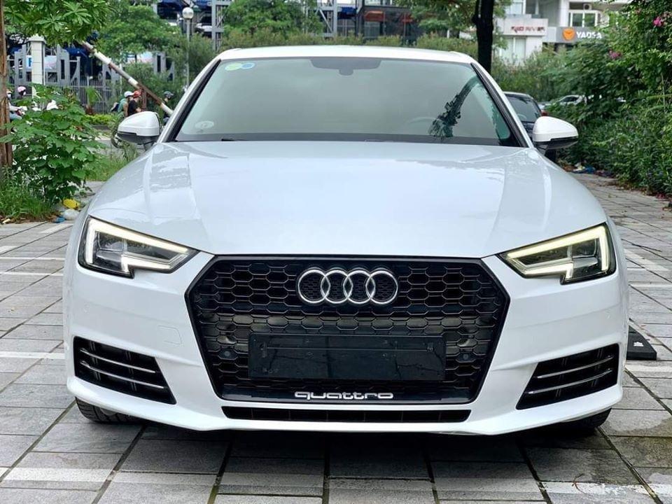 Bán Audi A4 năm 2016, màu trắng, nhập khẩu số tự động (1)