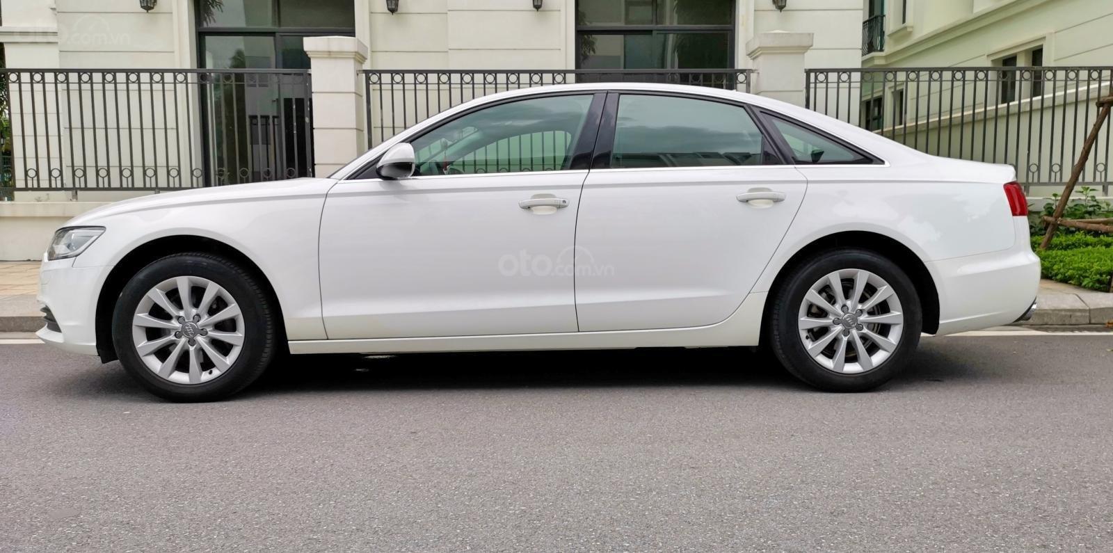 Cần bán lại xe Audi A6 đời 2013, màu trắng, nhập khẩu (1)