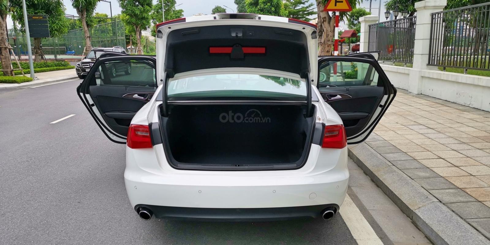 Cần bán lại xe Audi A6 đời 2013, màu trắng, nhập khẩu (7)