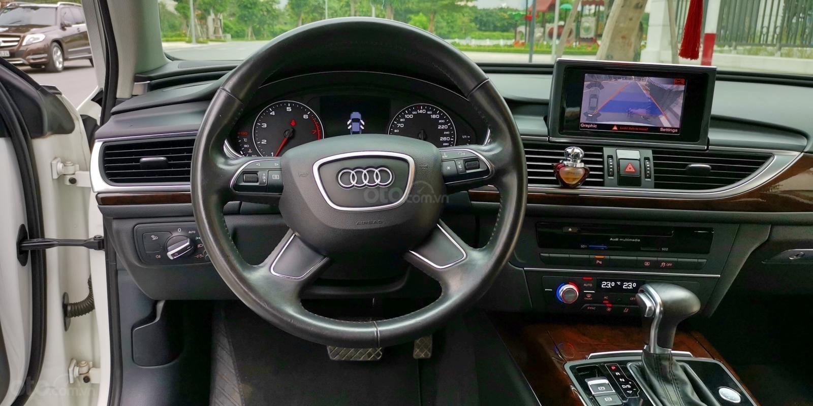 Cần bán lại xe Audi A6 đời 2013, màu trắng, nhập khẩu (12)