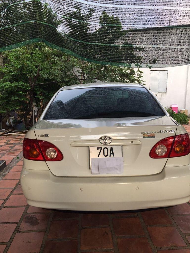 Bán Toyota Corolla Altis sản xuất 2001, màu trắng (1)