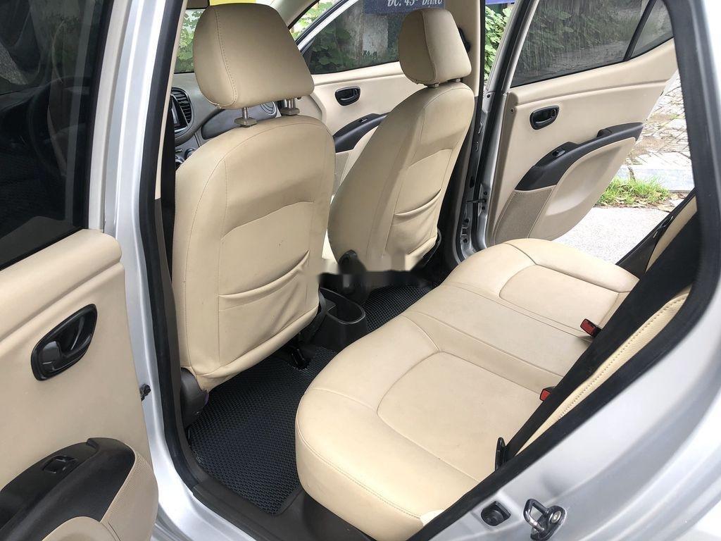 Cần bán lại xe Hyundai Grand i10 đời 2014, màu bạc, nhập khẩu nguyên chiếc  (10)