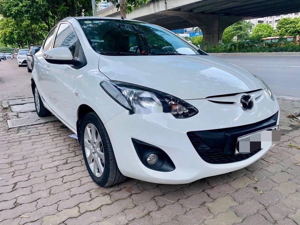 Bán ô tô Mazda 2 đời 2014, màu trắng, giá tốt (1)