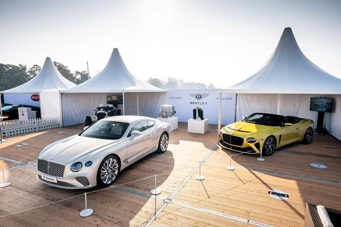 Bentley Continental GT Mulliner 2021 trình làng