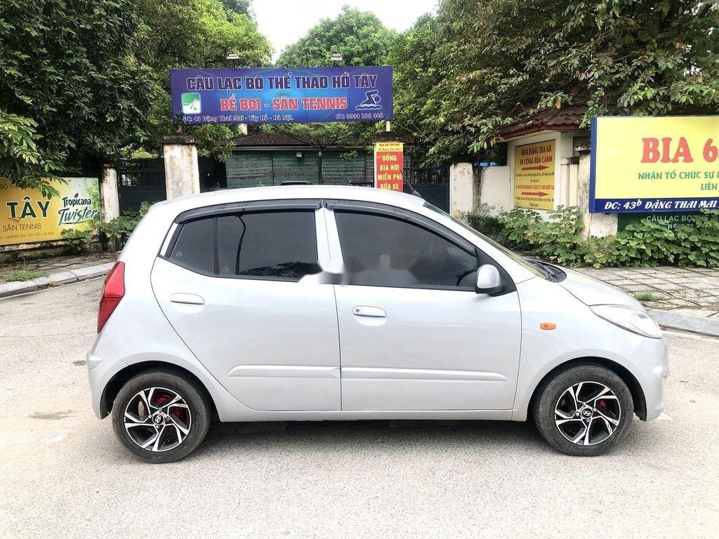 Cần bán lại xe Hyundai Grand i10 đời 2014, màu bạc, nhập khẩu nguyên chiếc  (5)