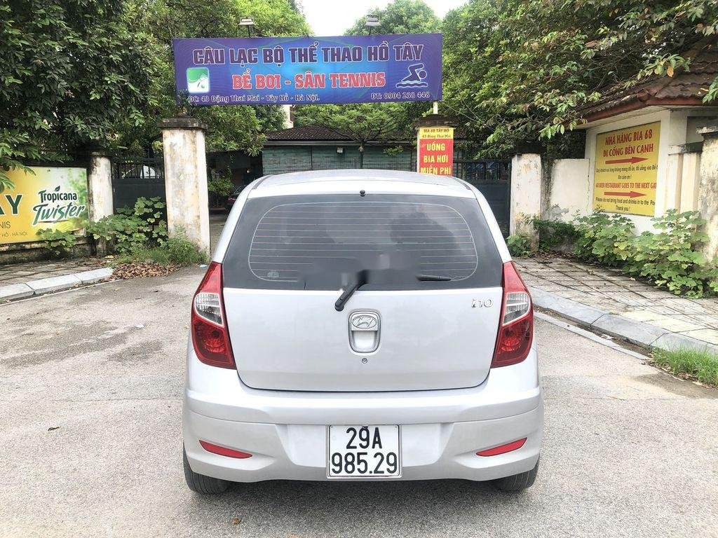 Cần bán lại xe Hyundai Grand i10 đời 2014, màu bạc, nhập khẩu nguyên chiếc  (2)
