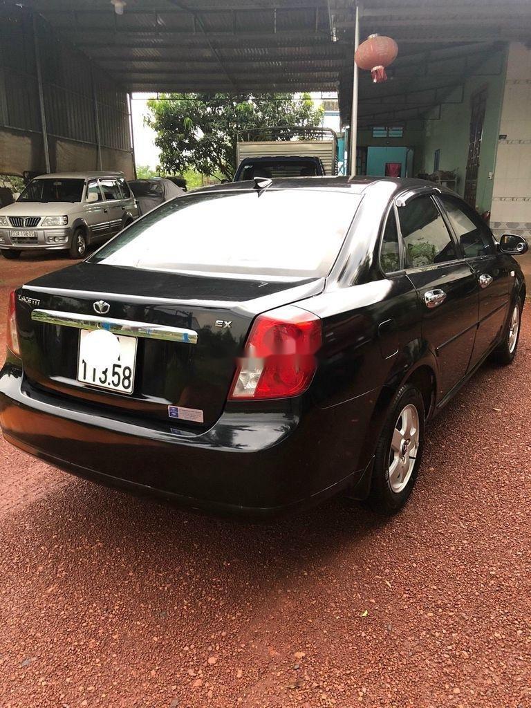 Cần bán Daewoo Lacetti đời 2009, màu đen (2)