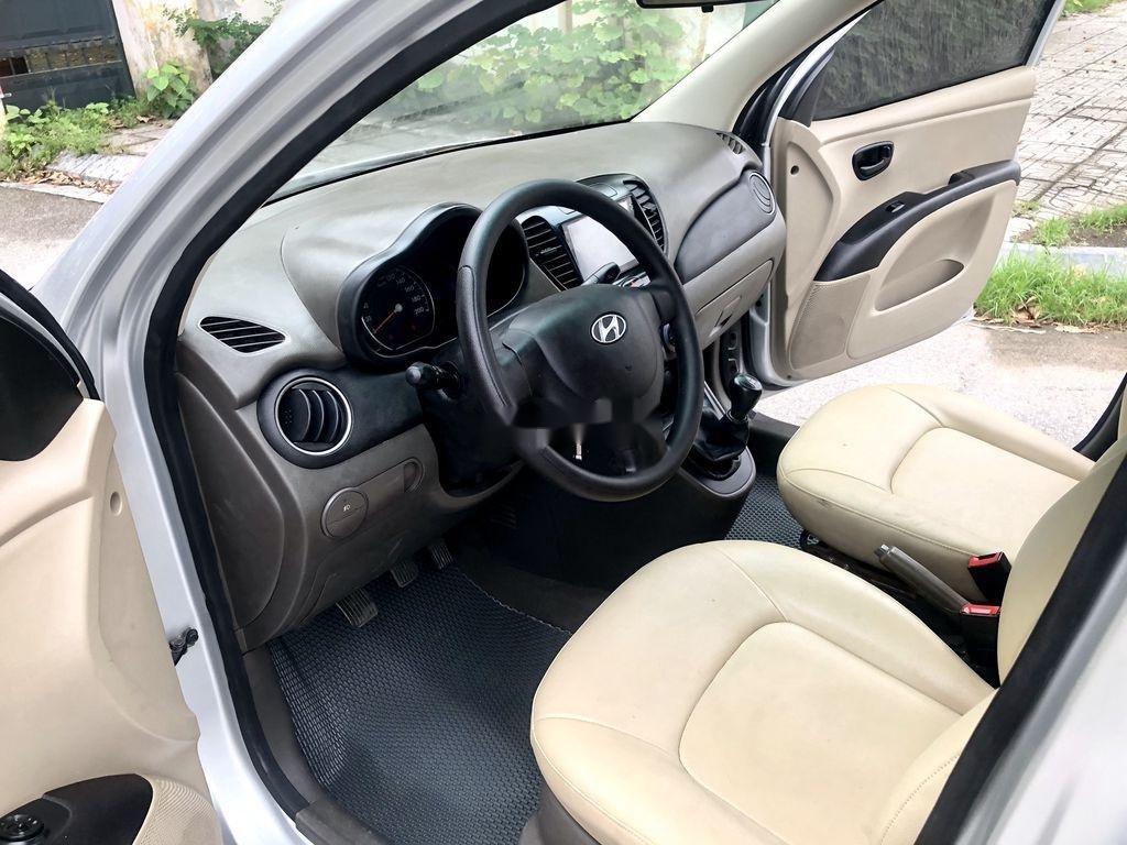 Cần bán lại xe Hyundai Grand i10 đời 2014, màu bạc, nhập khẩu nguyên chiếc  (9)