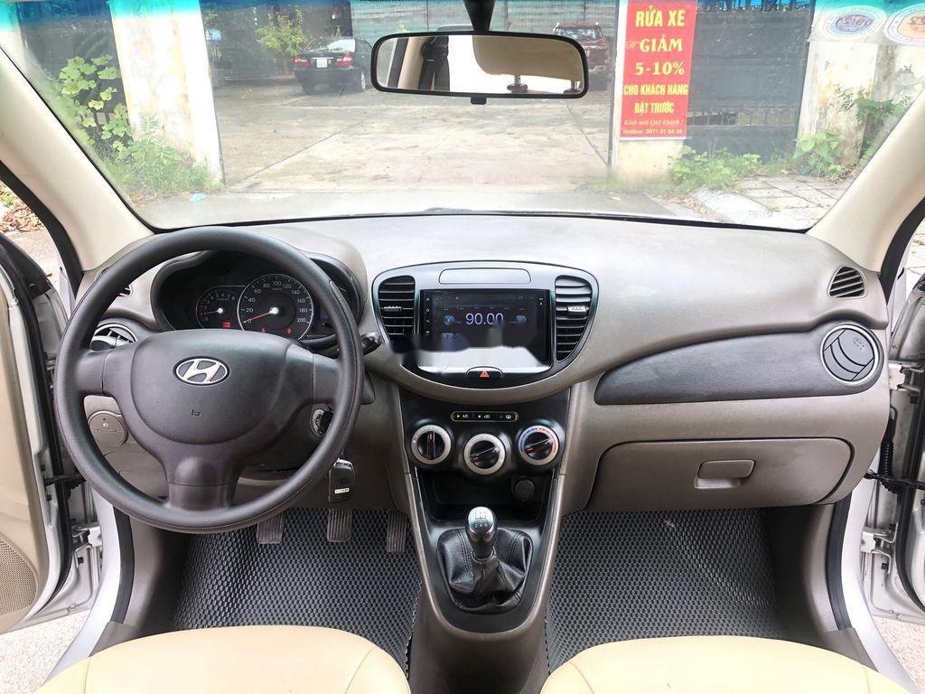 Cần bán lại xe Hyundai Grand i10 đời 2014, màu bạc, nhập khẩu nguyên chiếc  (12)