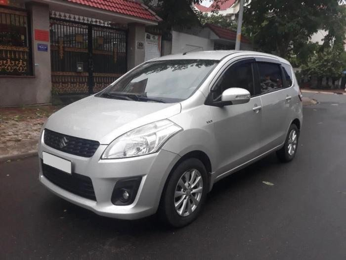 Bán Suzuki Ertiga 2016, màu bạc  (3)