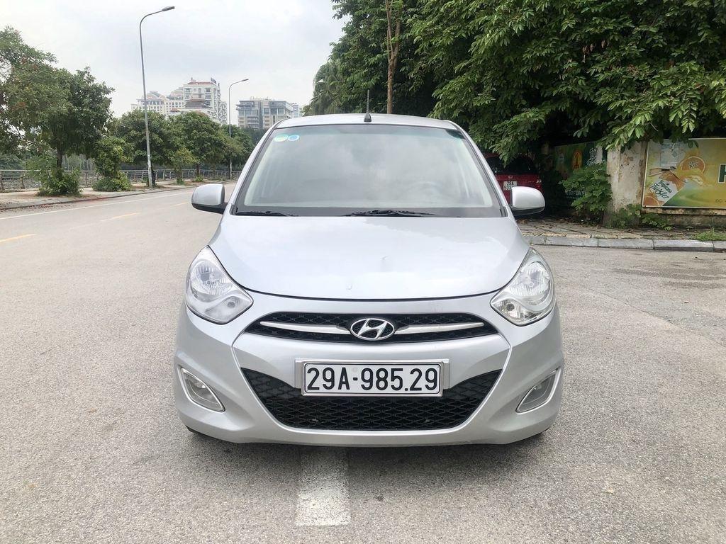 Cần bán lại xe Hyundai Grand i10 đời 2014, màu bạc, nhập khẩu nguyên chiếc  (1)