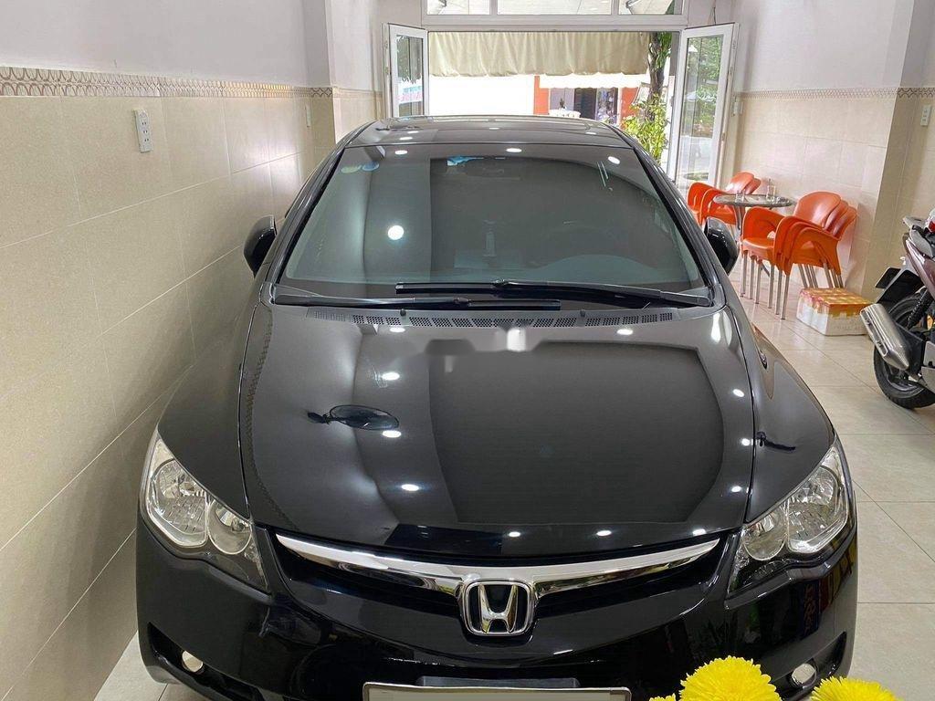 Bán Honda Civic 2.0L đời 2007, màu đen  (1)