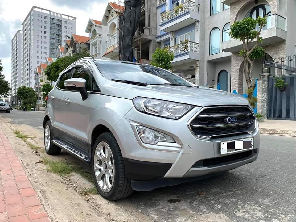 Cần bán gấp Ford EcoSport đời 2018, màu xám, nhập khẩu (1)