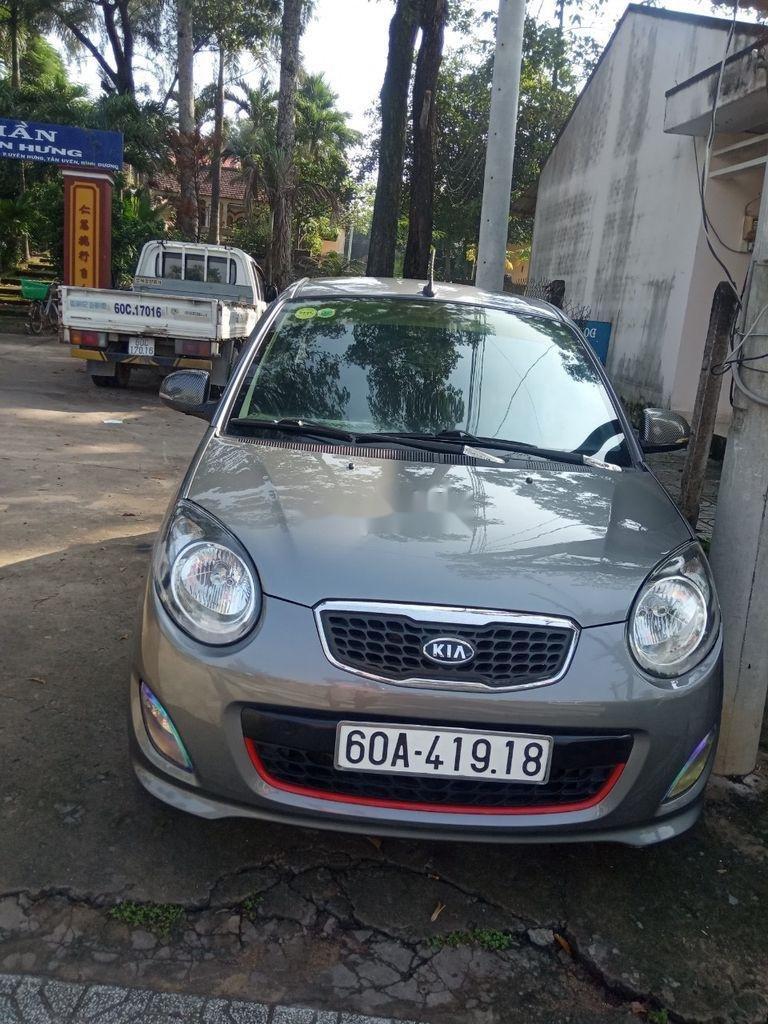 Bán Kia Morning đời 2012, màu xám, xe chính chủ (4)