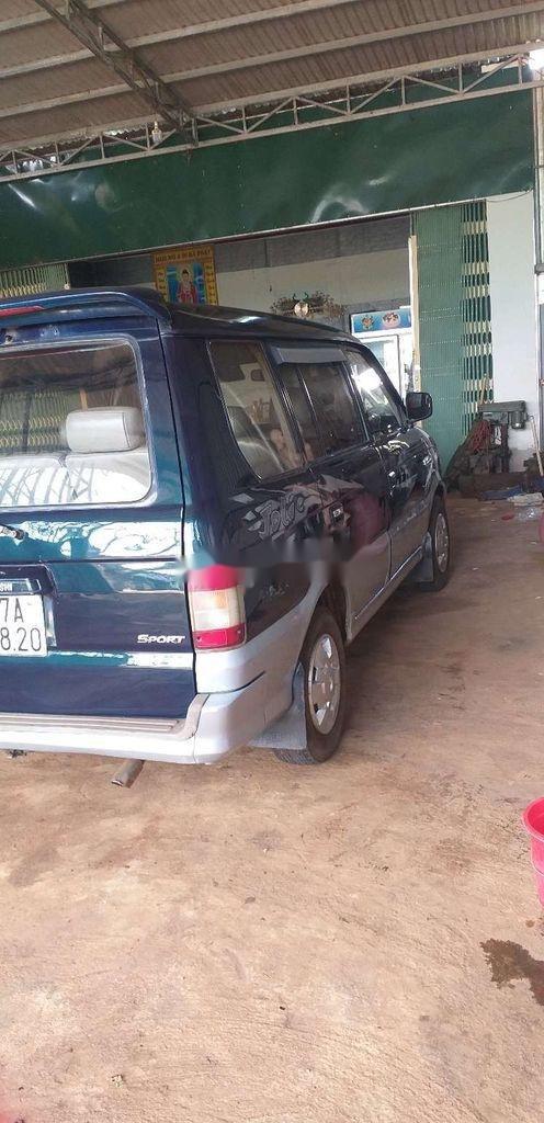 Cần bán lại xe Mitsubishi Jolie sản xuất năm 2001, màu xanh lam, nhập khẩu  (4)
