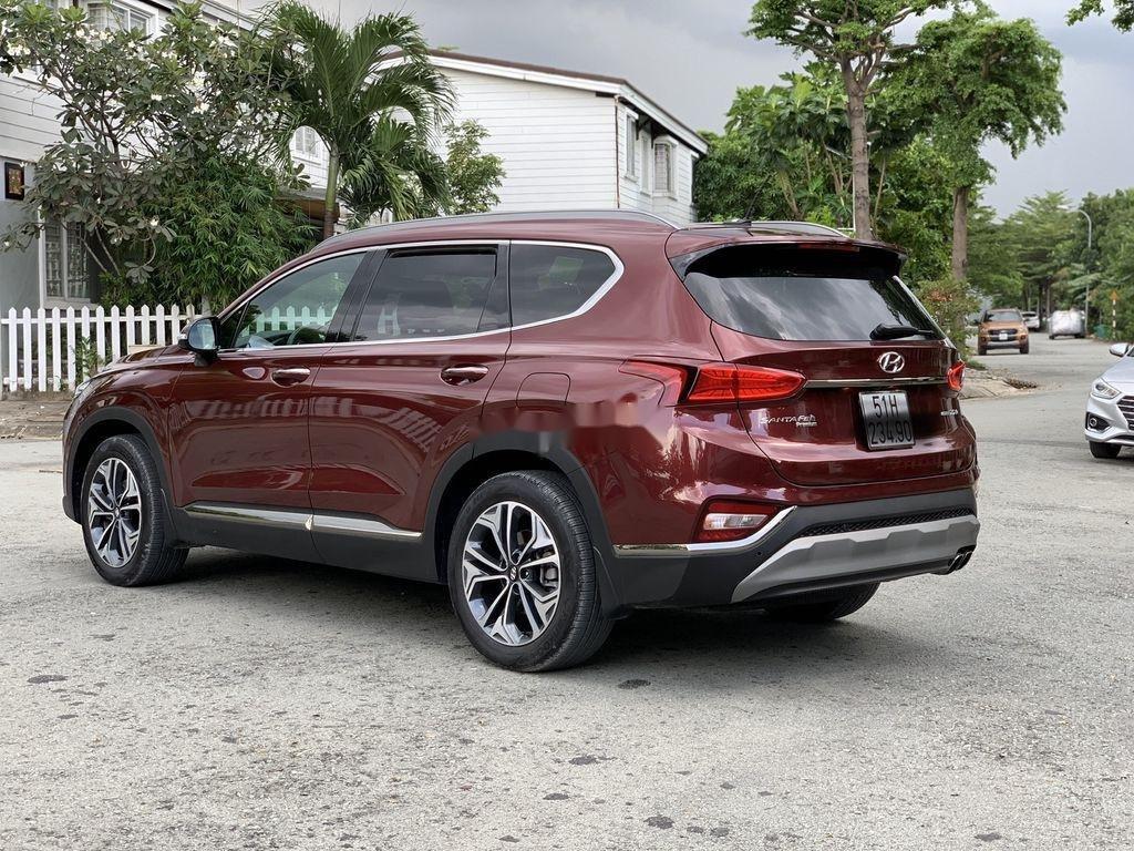 Bán Hyundai Santa Fe năm sản xuất 2019, màu đỏ   (5)