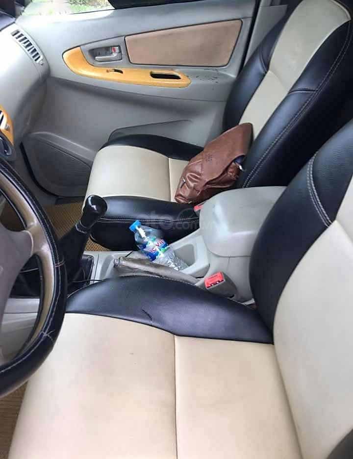 Cần bán Toyota Innova MT đời 2008, màu bạc còn mới  (4)