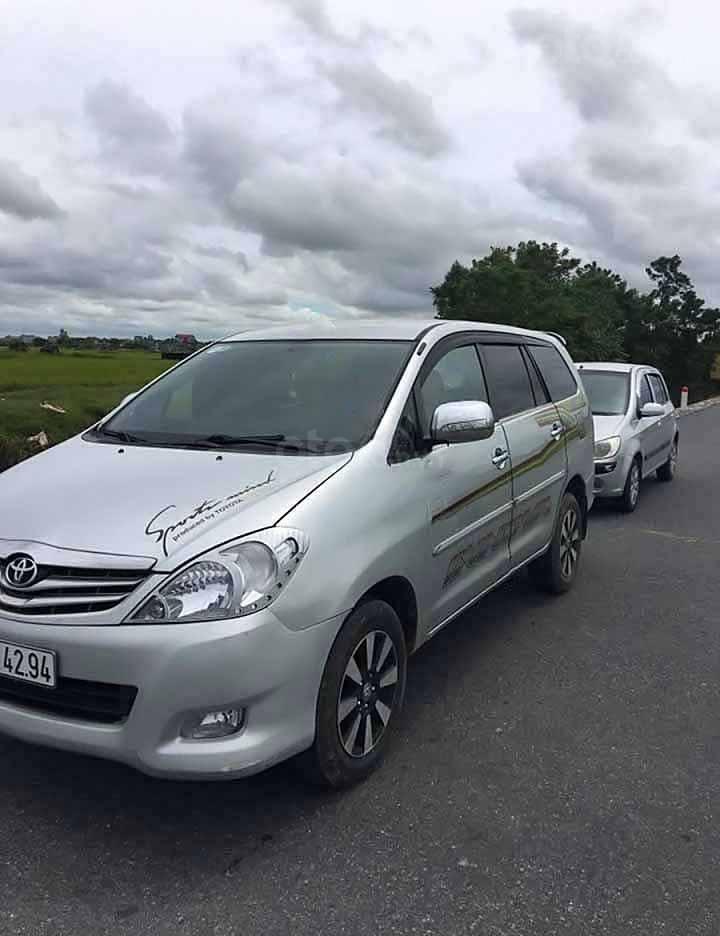 Cần bán Toyota Innova MT đời 2008, màu bạc còn mới  (3)