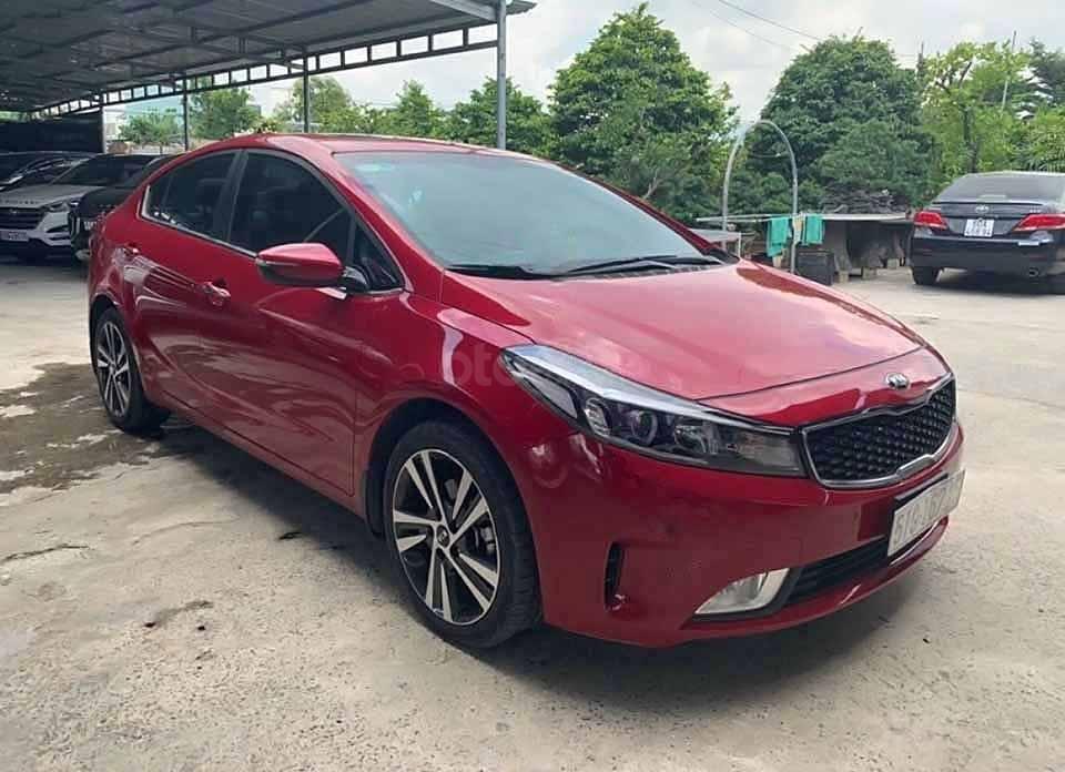 Bán Kia Cerato 1.6AT sản xuất 2018, màu đỏ còn mới (1)