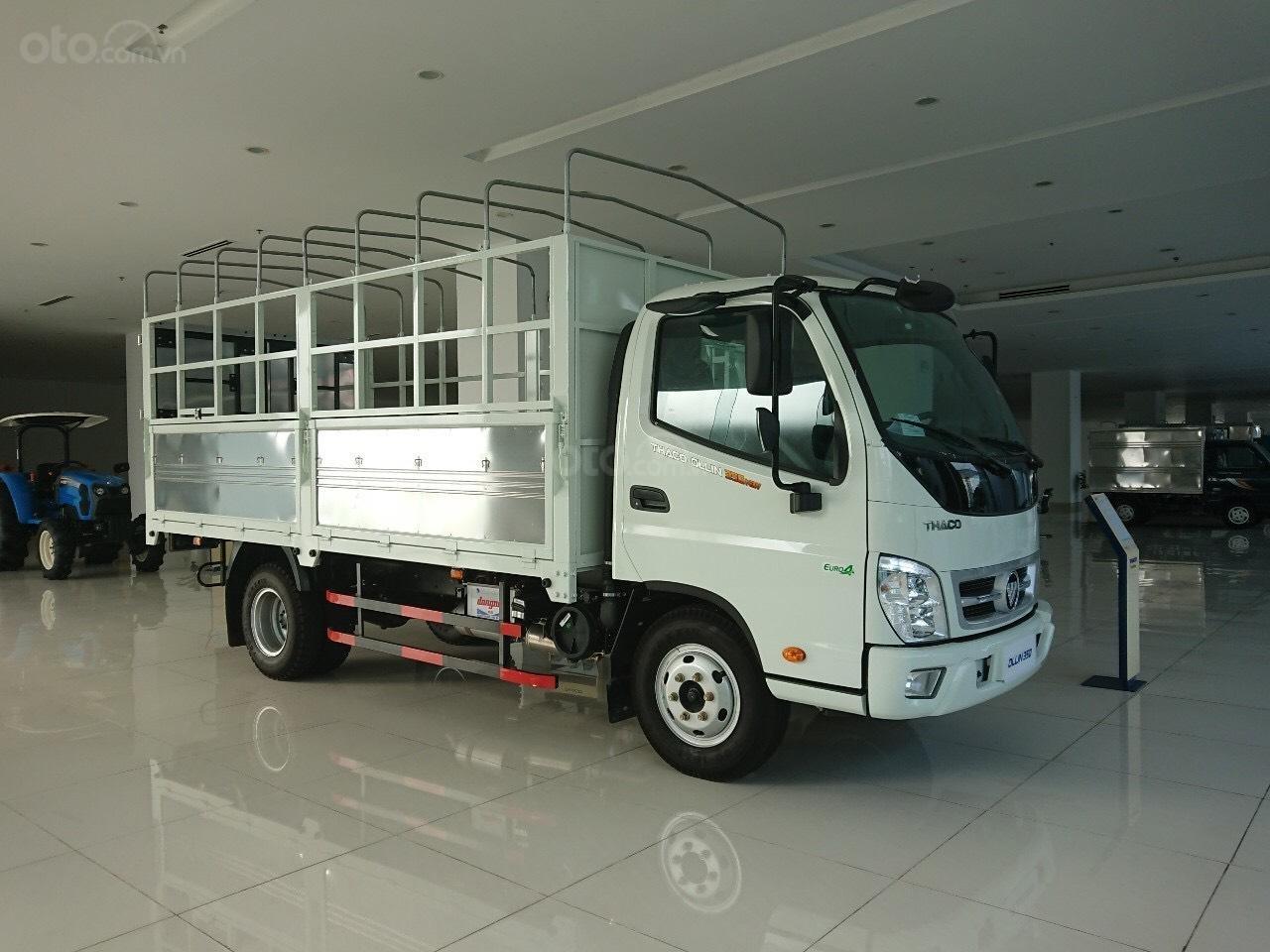 Xe tải OLLIN 3.5 tấn Thaco OLLIN700 tải trọng 3.5 tấn, thùng dài 4.35m trả góp 75% tại Hà Nội (1)