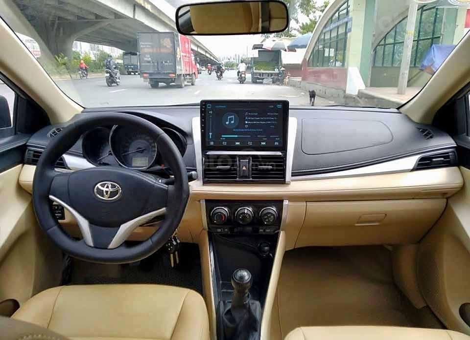 Cần bán lại xe Toyota Vios 1.5E 2017 như mới, giá 319tr (4)