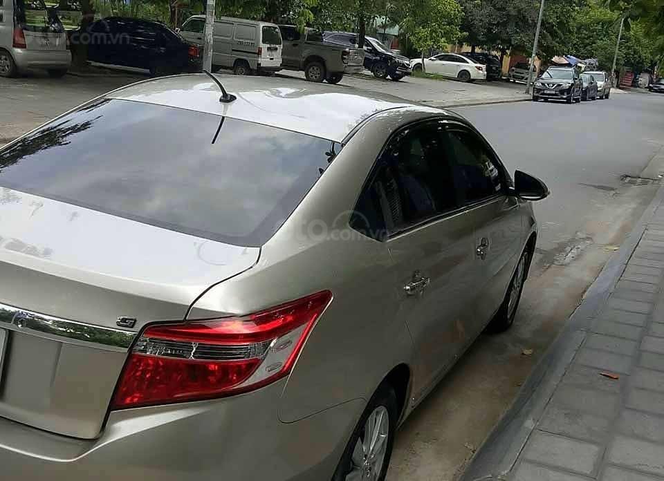 Bán ô tô Toyota Vios đời 2018, màu ghi vàng (5)