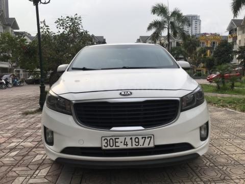 Bán Kia Sedona 2.2 L DAT sản xuất năm 2017, màu trắng, giá tốt (1)