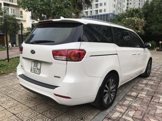 Bán Kia Sedona 2.2 L DAT sản xuất năm 2017, màu trắng, giá tốt (11)