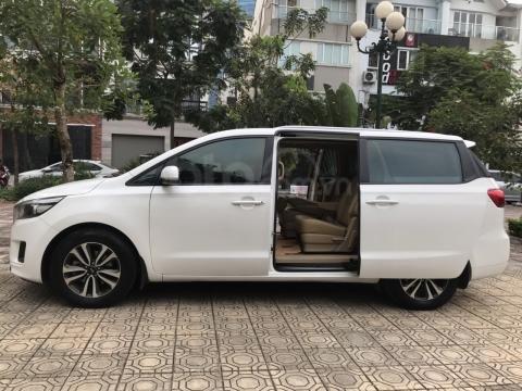 Bán Kia Sedona 2.2 L DAT sản xuất năm 2017, màu trắng, giá tốt (6)