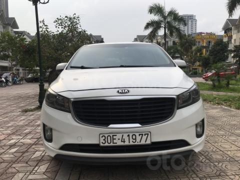 Bán Kia Sedona 2.2 L DAT sản xuất năm 2017, màu trắng, giá tốt (4)