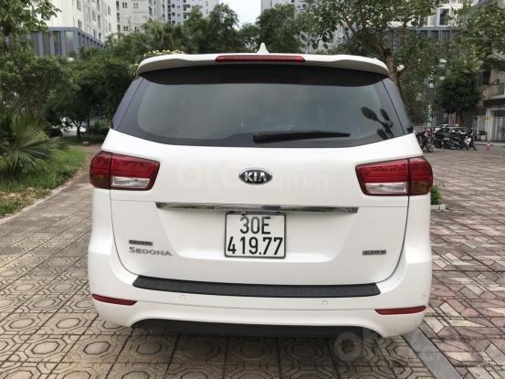 Bán Kia Sedona 2.2 L DAT sản xuất năm 2017, màu trắng, giá tốt (13)