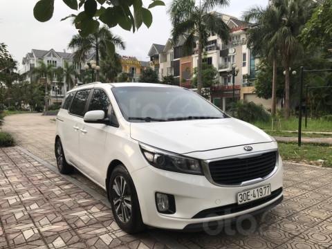 Bán Kia Sedona 2.2 L DAT sản xuất năm 2017, màu trắng, giá tốt (12)