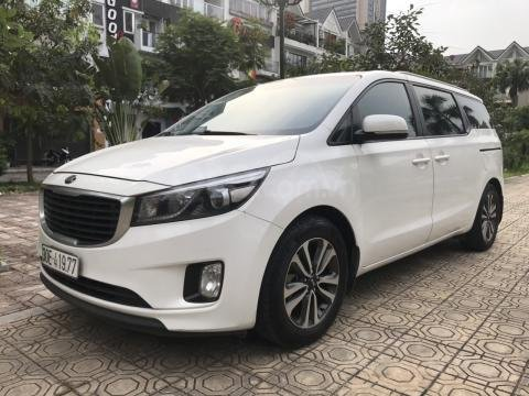 Bán Kia Sedona 2.2 L DAT sản xuất năm 2017, màu trắng, giá tốt (15)