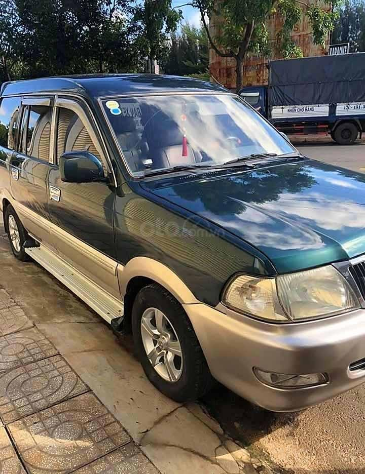 Cần bán gấp Toyota Zace năm sản xuất 2004, màu xanh lam còn mới (1)