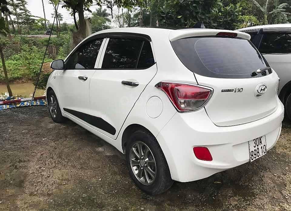 Cần bán lại xe Hyundai Grand i10 năm sản xuất 2015, màu trắng, nhập khẩu nguyên chiếc còn mới (5)