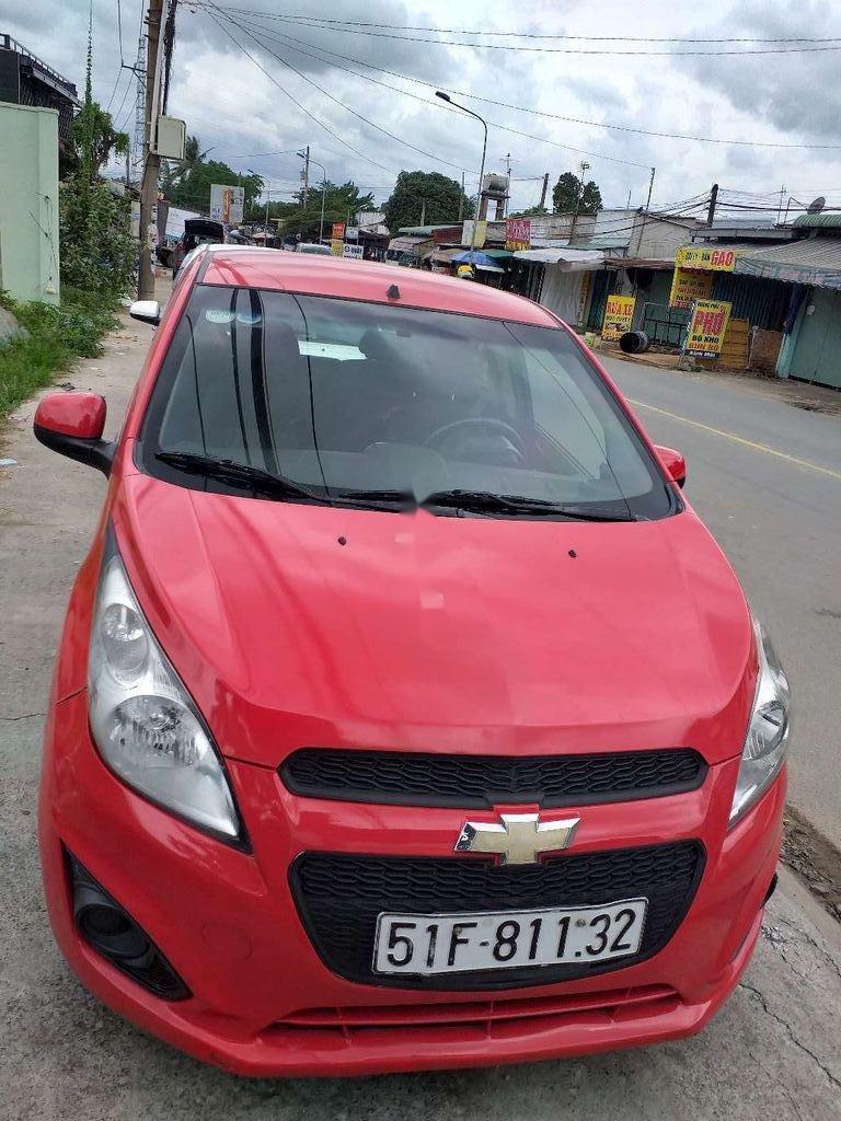Bán xe Chevrolet Spark đời 2016, màu đỏ, giá chỉ 165 triệu (2)