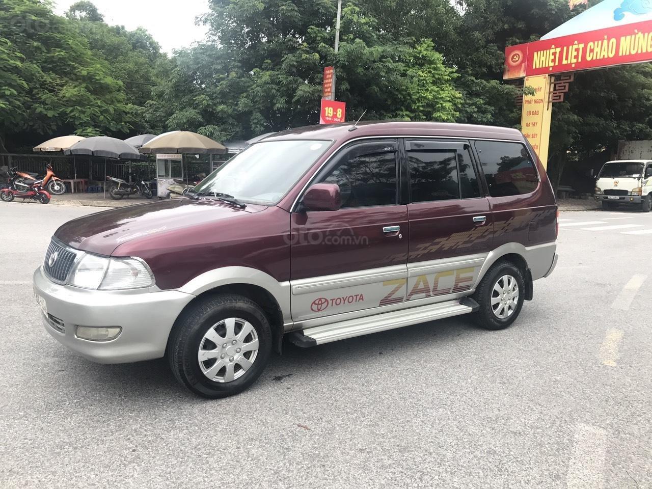 Toyota Zace GL cuối 2004, màu đỏ, chính 1 chủ biển 4 số sử dụng từ mới, nói không với lỗi nhỏ, mới nhất Việt Nam (2)
