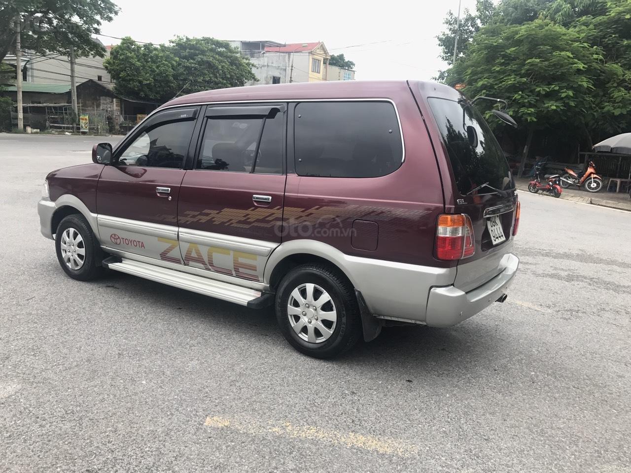 Toyota Zace GL cuối 2004, màu đỏ, chính 1 chủ biển 4 số sử dụng từ mới, nói không với lỗi nhỏ, mới nhất Việt Nam (3)