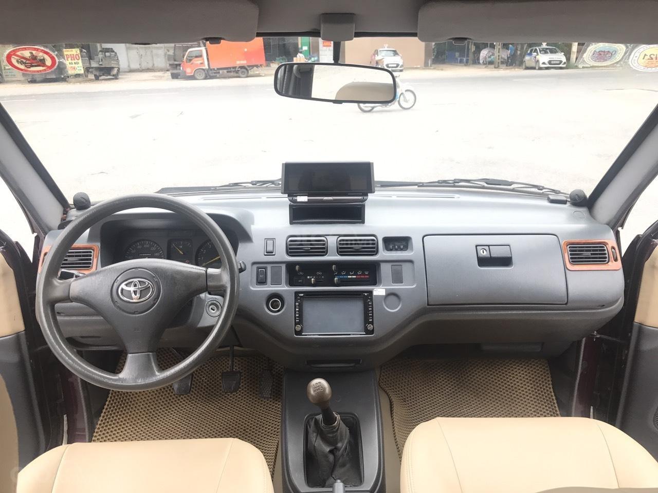 Toyota Zace GL cuối 2004, màu đỏ, chính 1 chủ biển 4 số sử dụng từ mới, nói không với lỗi nhỏ, mới nhất Việt Nam (5)