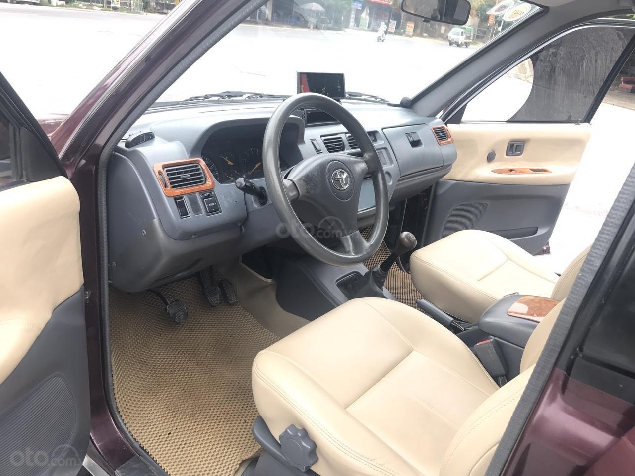 Toyota Zace GL cuối 2004, màu đỏ, chính 1 chủ biển 4 số sử dụng từ mới, nói không với lỗi nhỏ, mới nhất Việt Nam (4)