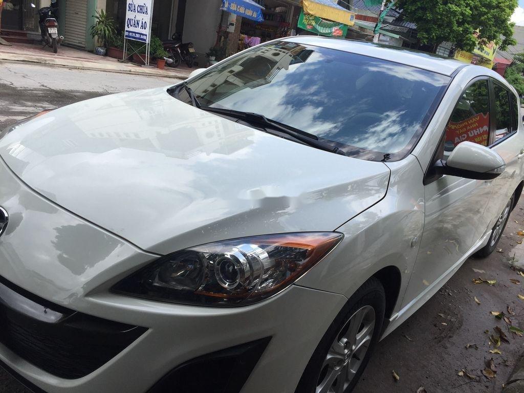 Cần bán lại xe Mazda 3 đời 2010, màu trắng, nhập khẩu, 300 triệu (6)