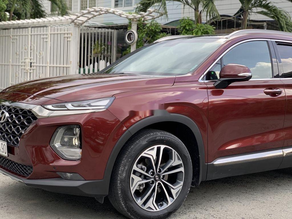 Bán Hyundai Santa Fe năm sản xuất 2019, màu đỏ   (1)