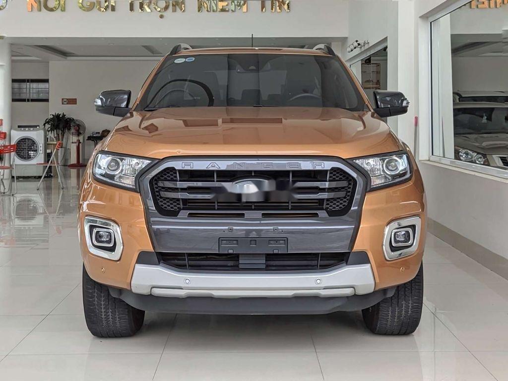 Bán xe Ford Ranger đời 2018, màu cam, nhập khẩu chính hãng (1)