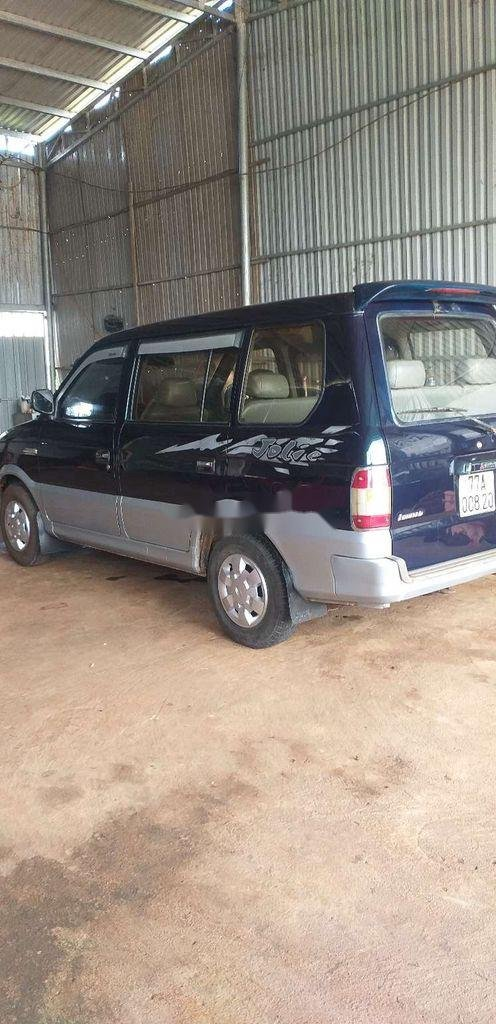 Cần bán lại xe Mitsubishi Jolie sản xuất năm 2001, màu xanh lam, nhập khẩu  (2)